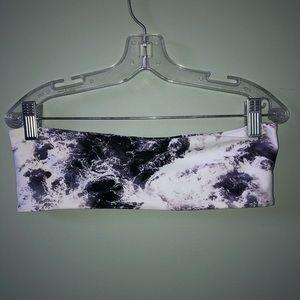 ZAFUL Abstract Bandeau Bikini Set
